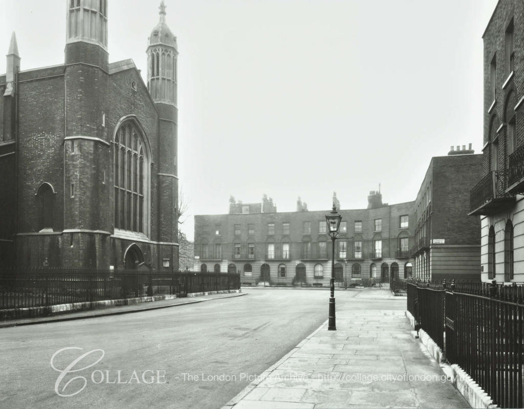 Church Cloudesley Square 1939