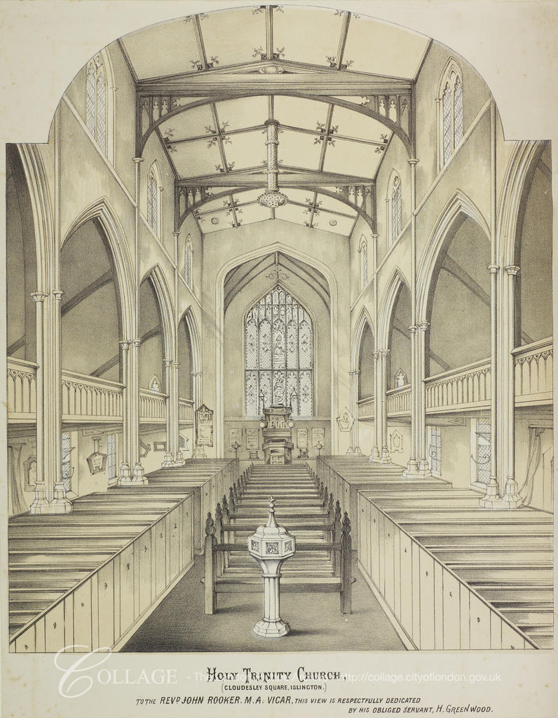 Church Interior H Greenwood 1850